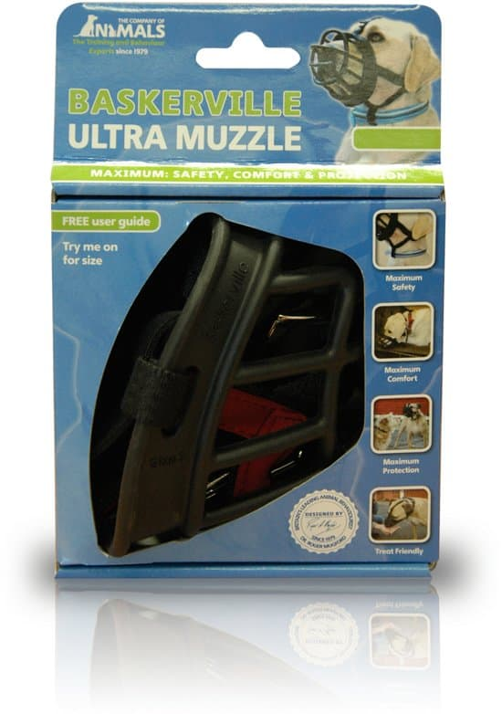 Baskerville Ultra Muzzle - Muilkorf - Maat 5 - Zwart