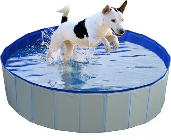 Hondenzwembad Blauw Ø80x30cm