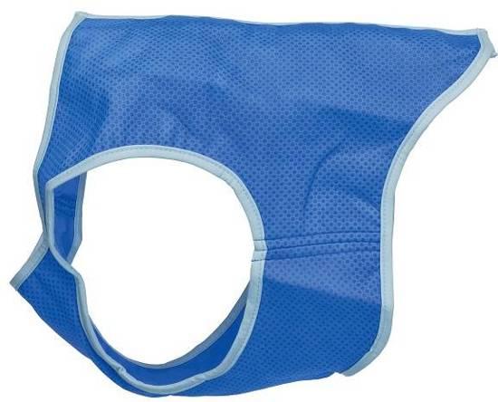 Trixie cooling vest pva blauw 35 cm