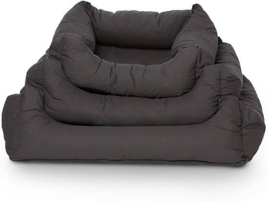 Rebel Petz Box Bed - Hondenmand - Grijs - L - 120 x 95 cm