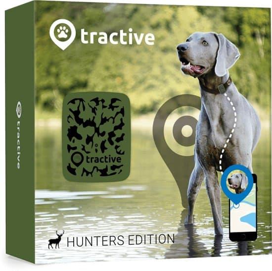 Tractive GPS Tracker Hond – Nr. 1 GPS huisdieren tracker voor hond tracking – Hunter Edition