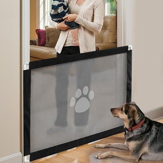 Zuberry Hondenhek Gaas - Hondenrek voor binnen - 80 x 100cm