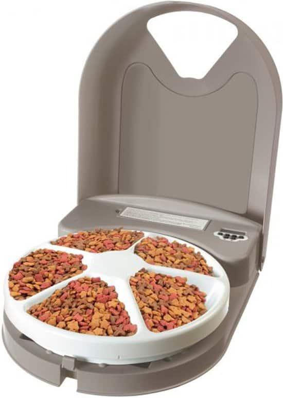Petsafe Eatwell Automatische-voerbak voor vijf maaltijden - BPA vrij