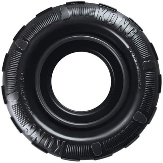 Kong Traxx Hondenspeelgoed - Rubber -  M/L- Zwart