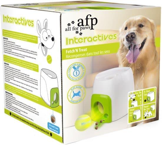 Afp Interactive Fetch 'N Treat - Hondenspeelgoed - 16 x 16 x 20 cm