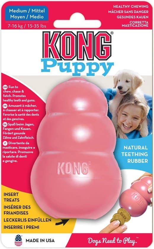 Kong Puppy - Hondenspeelgoed - Assorti - M