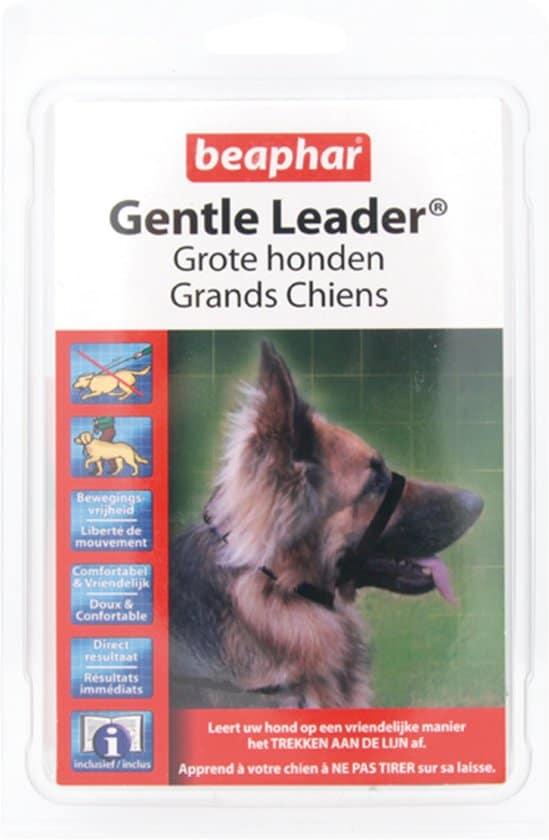 Beaphar Gentle Leader - Zwart - 54 cm - Grote Honden