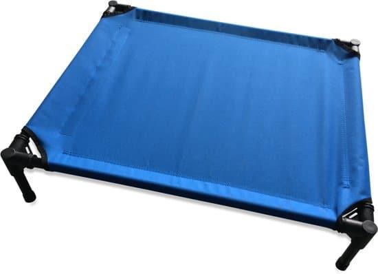 Topmast Petbed Hondenbed Hondenstretcher Blauw 76x61x18cm