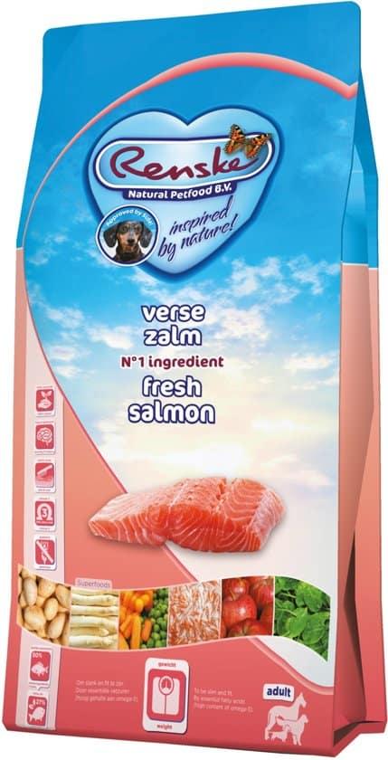 Renske Super Premium Adult - Zalm/Graanvrij - Hondenvoer - 12 kg