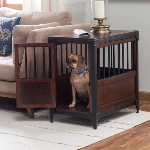 houten hondenmand