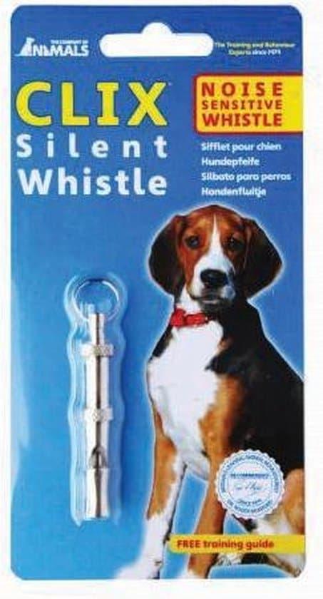 Clix Silent Whistle fluit Training - Toonhoogte Instelbaar - 5,9 x 1 cm
