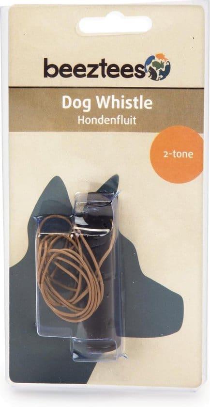 Beeztees - Hondenfluitje - 2 Toon - Middel - 7x2 cm