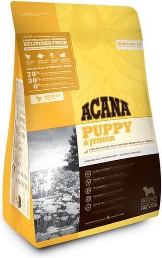 Acana heritage puppy junior hondenvoer 2 kg