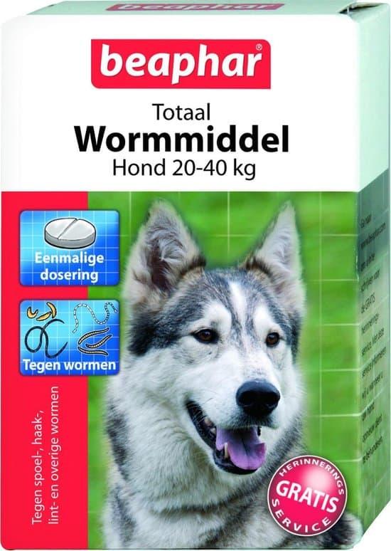 Beaphar Totaal Wormmiddel - Grote Honden