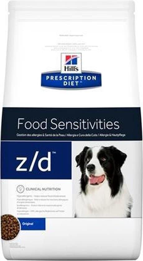 Hill's canine z/d - 10 kg - 1 stuks